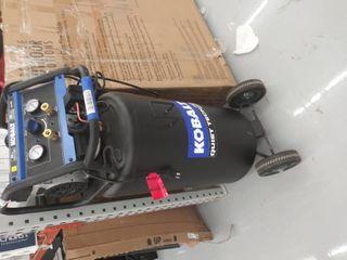Kobalt QUIET TECH 26 Gallon Single Stage Portable Electric Vertical Air Compressor