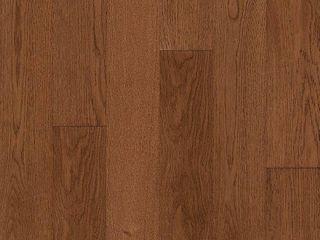 Bruce Hydropel Oak Gunstock 7 16 in  T x 5 in  W x Varying length Waterproof Engineered Hardwood Flooring  22 6 sq  ft