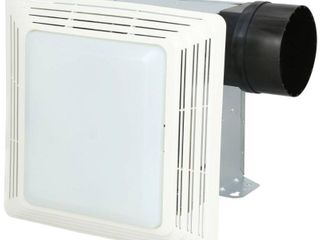 Broan Exhaust Fan With light  50 Cfm  MISSING PIECES