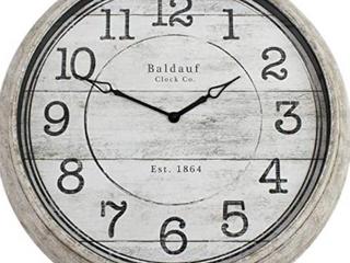 Balddauf 30  Round Rustic Clock    Not Inspected
