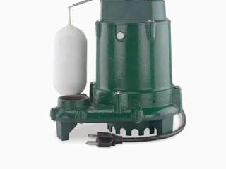 submersible sump pump model M1052