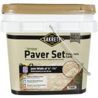 Sakrete 40 lb Tan Polymeric Jointing and Polymeric Sand