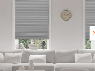 Allen and Roth Cordless Cellular Shade Grey