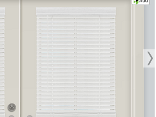 Allen and Roth Cordless Faux Wood Blind    28 5  x 64