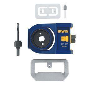 Irwin 2 3 4 in  l Carbon Steel Door lock Installation Kit 1 pc