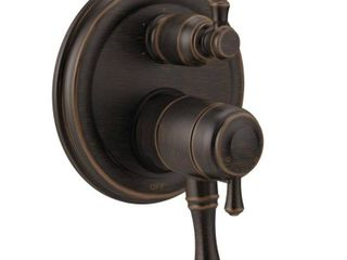 Delta Cassidy Traditional 2 Handle Monitor 17 Series Valve Trim w  6 Setting Integrated Diverter