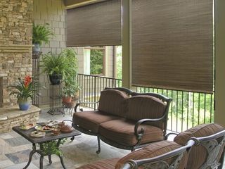 Radiance 72 inch All Natural Bamboo Crank Shade  Retail 183 99