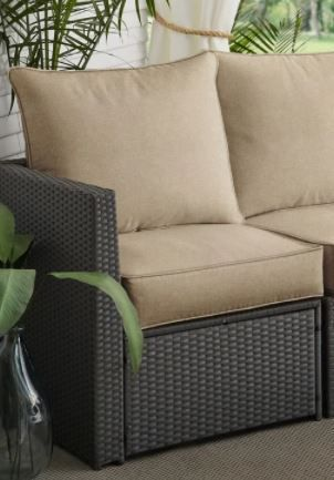 Brown Deep Seating Corded Sola Pillow