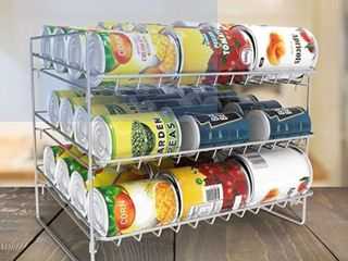 3 Tier Can Dispenser Organizer Holds 36 Standard Cans by lavish Home