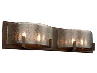 Firefly 4 light Industrial Bronze Bath Fixture  Retail 155 66