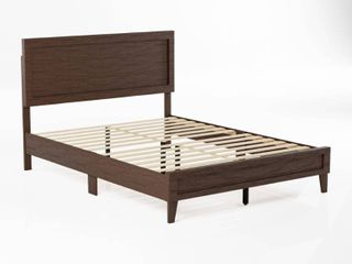 Brookside leah Classic Wood Platform Bed  Retail 225 99  Damaged  See Pictures