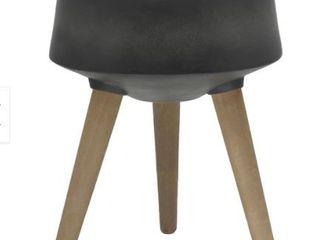 Mid Century 15 W Fiberglass Pot on Stand  Retail 76 48