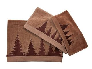 3 Piece Towel Set Clearwater Pines