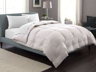Pacific Coast Extra Warmth Down Full Queen Comforter  Retail 207 49