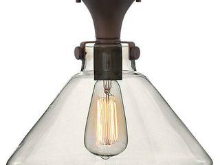Hinkley Congress 1 light Flush Mount in Oil Rubbed Bronze  Retail 249 00