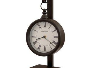 Howard Miller loman Contemporary  Transitional  Vintage  and Old World Style Mantel Clock  Reloj del Estante