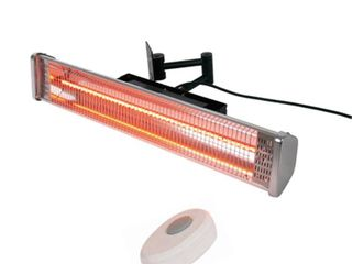 Hiland Wall Mounted Electric Patio Heater with remote control  Retail 169 99