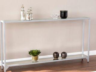 Carbon loft Glenn Narrow Metal Console Table  Retail 147 99