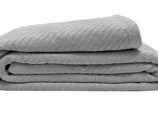 Porch   Den St  Andrews Organic Cotton Blanket