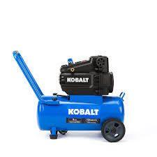 kobalt compressor 8 gal 150 max psi blue