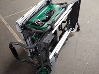 hitachi table saw missing parts