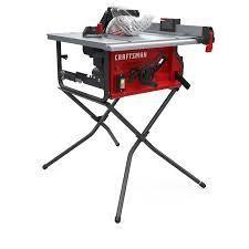 craftsman table saw 15 amp