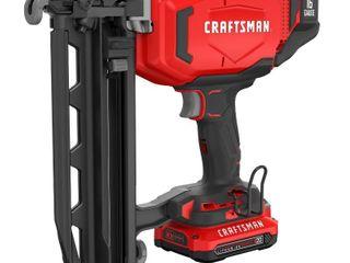 Craftsman 20V MAX Cordless 16 Ga  Finish Nailer Kit