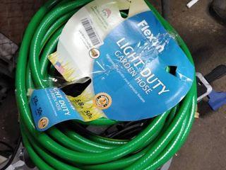 flexon light duty garden hose green 50 ft