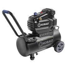 kobalt air compressor black