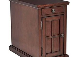 Ball   Cast End Table Dark Brown