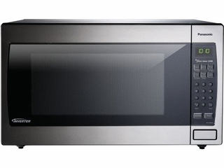 Panasonic NN SN966SR 2 2cuft luxury Microwave with Inverter Technology