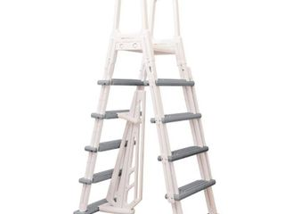 Blue Wave Heavy Duty A Frame ladder for Above Ground Pools
