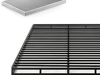 Zinus Victor 4  low Profile Quick lock Smart Box Spring mattress Foundation