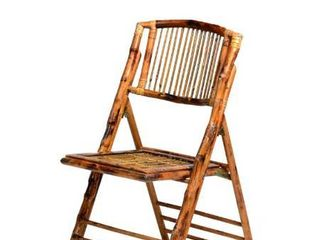 Commercial Seating Products American Classic Bamboo Folding Chair