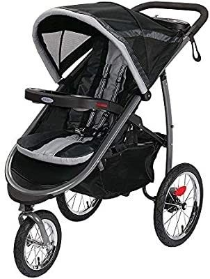 Click Connect FastAction Fold Jogging Stroller  Gotham