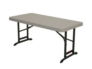 lifetime Products 4 ft  Commercial Adjustable Folding Table  80387