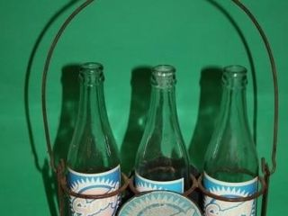 Sunny Pop 3 Bottle Carrier w 3 Pop Bottles