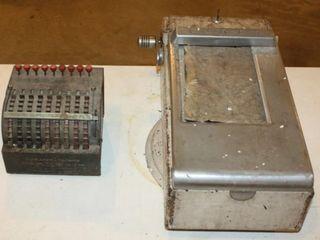 Manual Adding Machine   Receipt Register