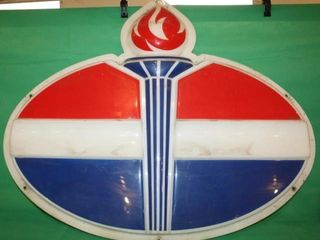Standard oil Flame Sign