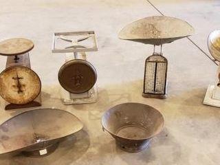 5 Vintage Countertop Scales