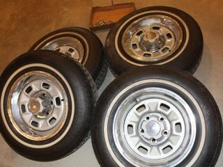 4 205 75 14 Brand New Rims   Wheels   lugs