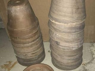 14  Terra Cotta 6  Flower Pots
