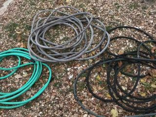 3  Garden Hoses  2 Regular  1 Soaker