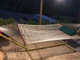 15 ft  Hammock Stand   Rope Hammock 5IJW