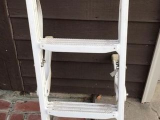 Taylor Made White Boat ladder