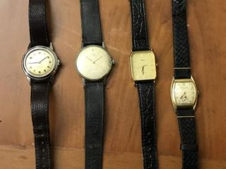 4  Vintage MenIJs Watches
