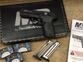 Smith   Wesson M P 22 Compact Pistol