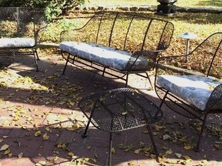 Mid Century Modern Yard Furniture Set