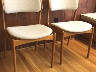 2  Mid Century Modern Chairs  Made In Denmark