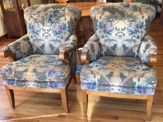 Pearson Matching Upholstered Arm Chairs